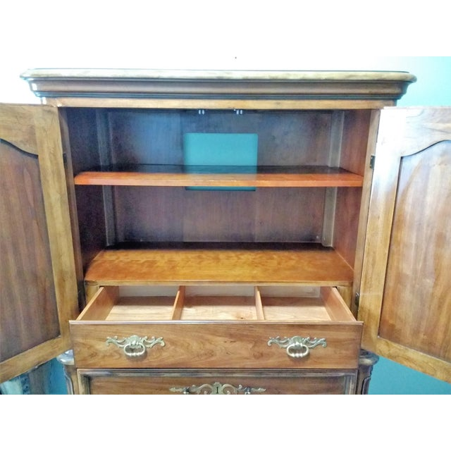 Mid 20th Century Mid 20th Century Drexel Heritage Armoire For Sale - Image 5 of 11