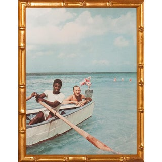 """""""Noel Coward in Ocho Rios Jamaica"""" Color Plate For Sale"""