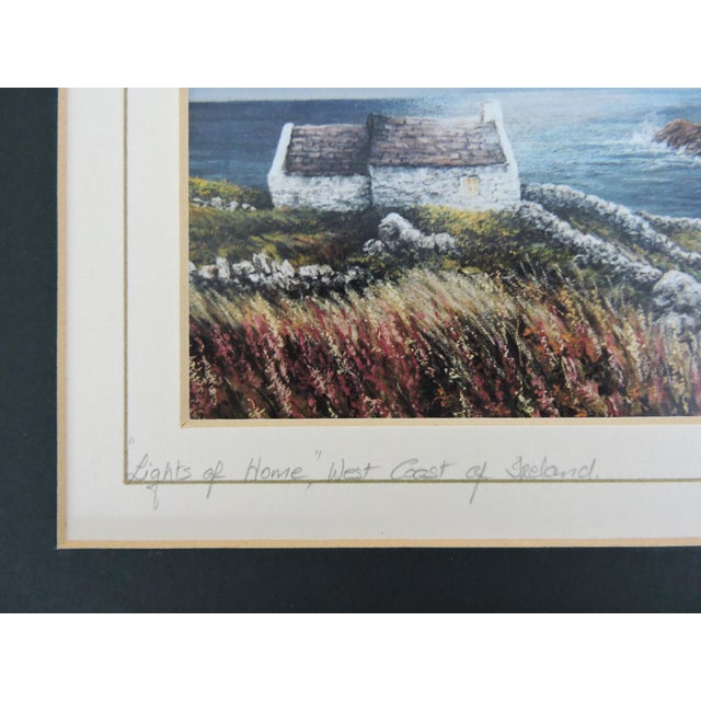 Blue Signed Philip Grey Lithographs of Ireland - a Pair of Prints For Sale - Image 8 of 10
