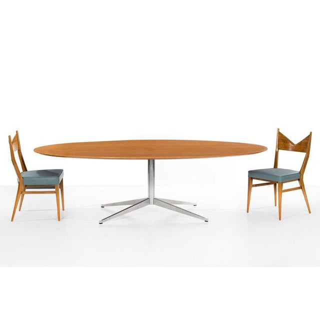 Metal Florence Knoll Dining Table or Desk For Sale - Image 7 of 8