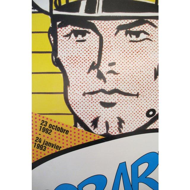 1992 Roy Lichtenstein and Mel Ramos Pop Art Exhibition Poster - Image 2 of 3
