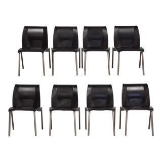 Knoll Studios Fog Dining Chairs - Set of 8 For Sale