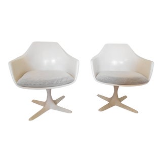 Burke Propeller Arm Chairs - a Pair