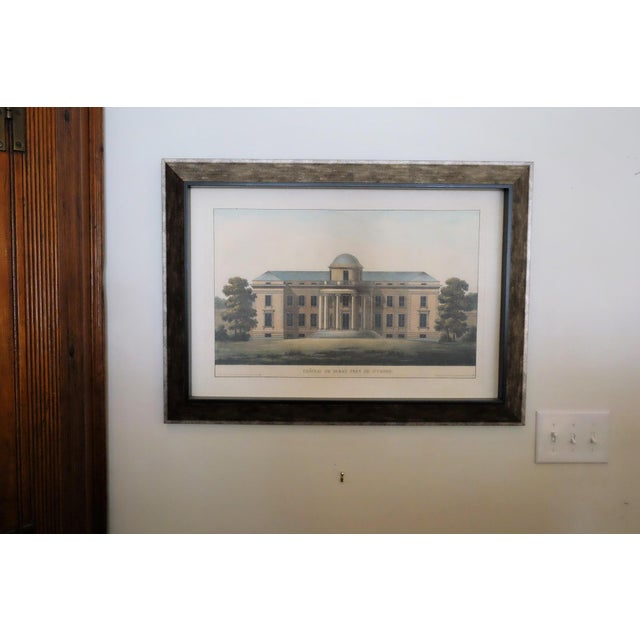 "Very Light Resin Frame. Soothing Muted Colors. Image of ""Chateau de Duras Pres De S-Trond"". New from Paragon Picture..."
