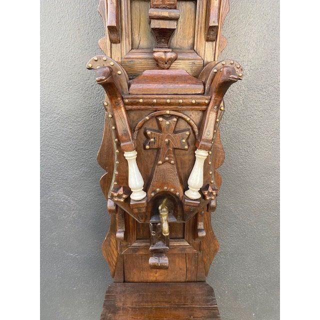 Late 19th Century 19th C. European Folk Art Sculpture /Dispenser For Sale - Image 5 of 13