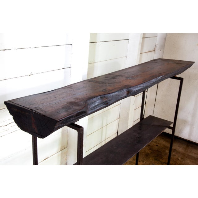 One-of-a-kind artisan-created piece entirely made in San Antonio, Texas from locally-sourced reclaimed materials....