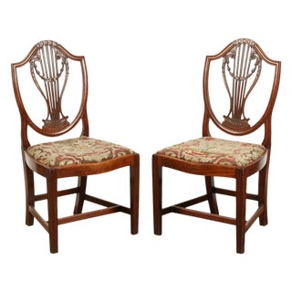 Pair of Early Georgian Chairs For Sale