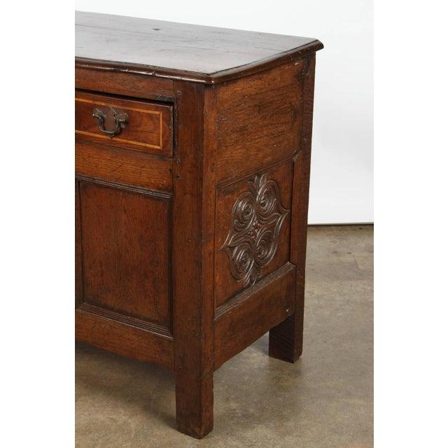 19th Century English Oak Sideboard - Image 8 of 10