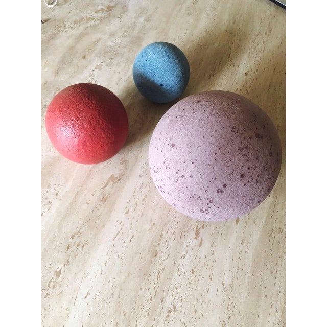 Artist Made Post Modern Sphere Trio - Set of 3 For Sale In Portland, OR - Image 6 of 8