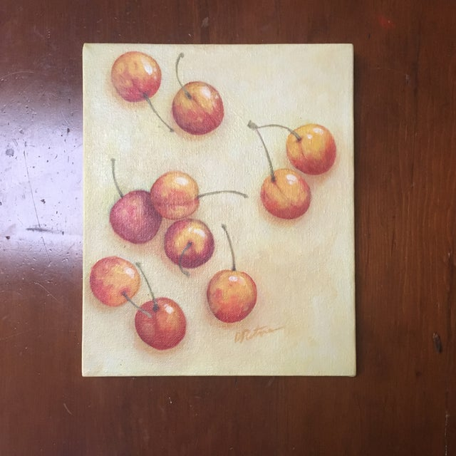 Signed Cherry Painting - Image 5 of 5