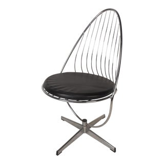 Mid-Century Dahlen Mobler Ab Egg Shaped Wire Chair For Sale