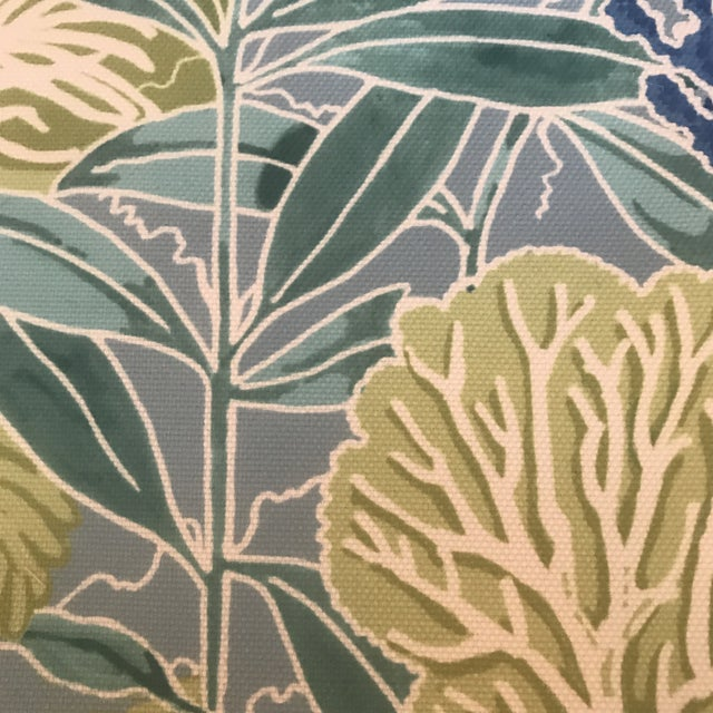 Manuel Canovas Indoor / Outdoor Patmos Fabric - 3 1/2 Yards For Sale - Image 4 of 8