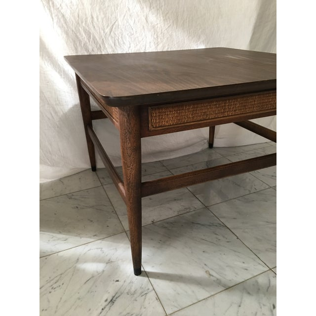 Pristine As The Day It Was Made American Of Martinsville End Table Square