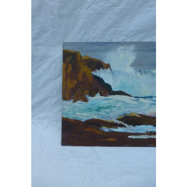 H.L. Musgrave Mid-Century Ocean Painting - Image 4 of 7