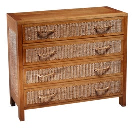 Image of Wicker Dressers and Chests of Drawers