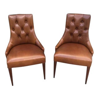 Ritz Dining Chairs by Thomas Pheasant for Baker - a Pair For Sale