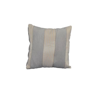 2-Toned Smoke Grey Pillow For Sale
