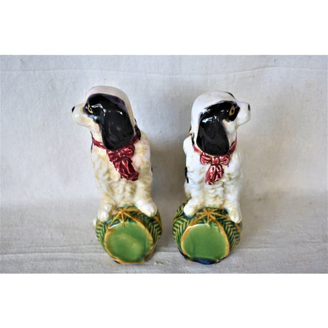 English Traditional Vintage King Charles Spaniel Bookends - a Pair For Sale - Image 3 of 8