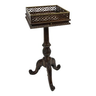 Maitland Smith Exotic Wood Occasional Table For Sale