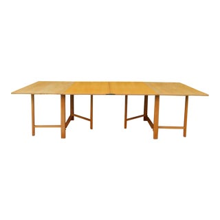 1937 Swedish Bruno Mathsson Folding Table For Sale