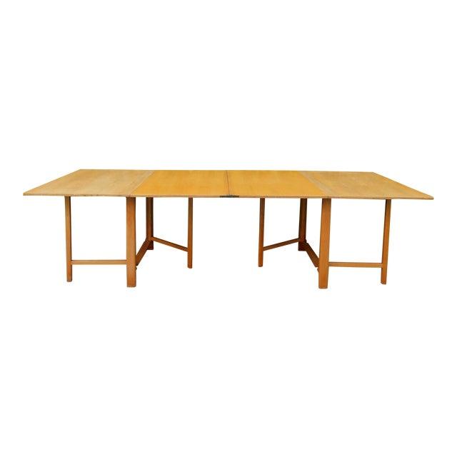 1937 Swedish Bruno Mathsson Folding Table For Sale