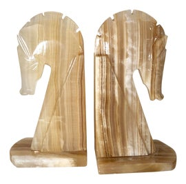 Image of Onyx Bookends