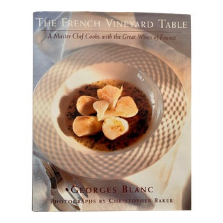 1990s The French Vineyard Table by Georges Blanc For Sale