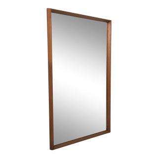 Teak Wall Mirror