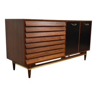 American of Martinsville Walnut Dresser