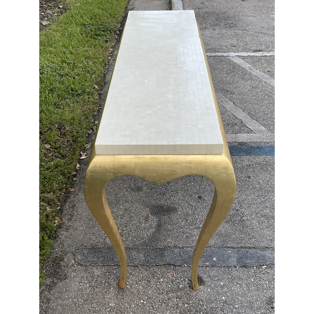 Tessellated and Horn Console For Sale - Image 4 of 10