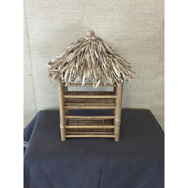 Bamboo Tiki Display Shelves - Image 7 of 9