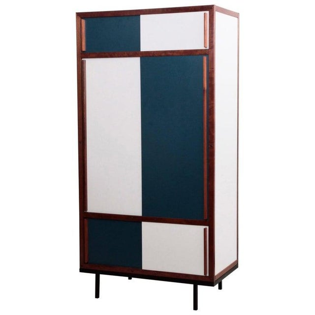 Andre Sornay Cabinet in Restored Condition For Sale - Image 6 of 6