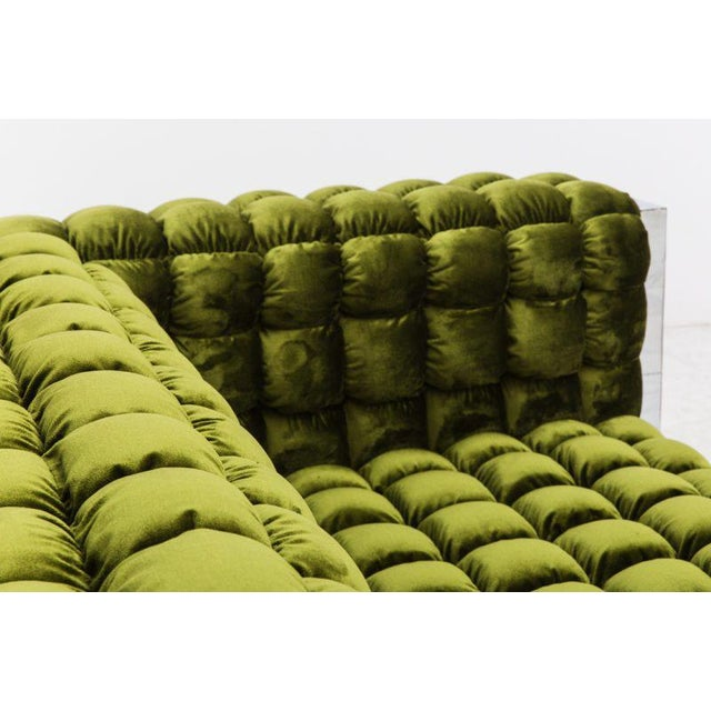 1970s Paul Evans, Cityscape Settee (PE-248), USA, c.1970 For Sale - Image 5 of 7