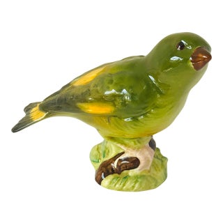 1970s Beswick Green Finch Figurine, Made in England For Sale