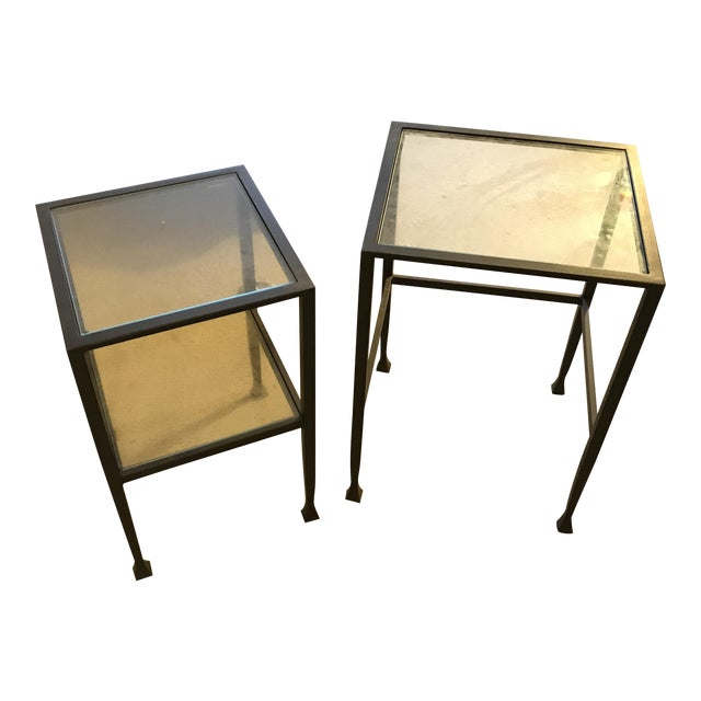Pottery Barn Tanner Nesting Side Tables - A Pair - Image 1 of 6