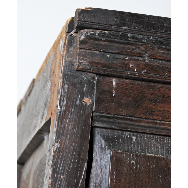 1770 English Oak Cupboard/Livery Cabinet For Sale - Image 9 of 12