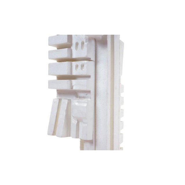 White Irving Harper Sculpture of Styrofoam from His Paper Sculpture Series For Sale - Image 8 of 9