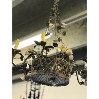 Vintage Metal Floral Chandelier Preview