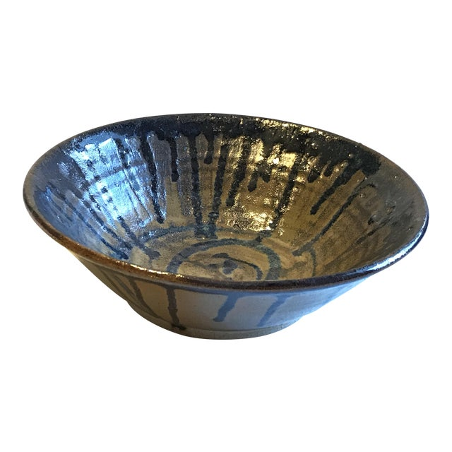 Glazed Beeware Ceramics Pottery Bowl For Sale