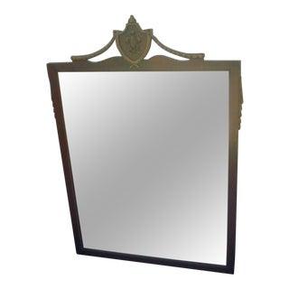 Federal Mahogany Wall Mirror
