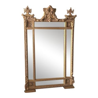Amazing French Style Floor Mirror For Sale