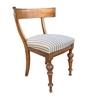 Early 20th Century Swedish Klismos Chair For Sale