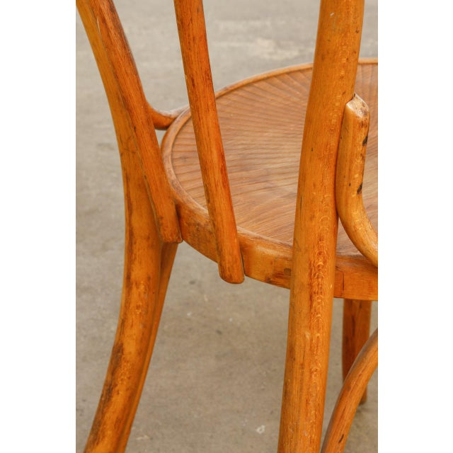 Michael Thonet No. 18 Bentwood Viennese Cafe Chairs - a Pair For Sale - Image 9 of 13