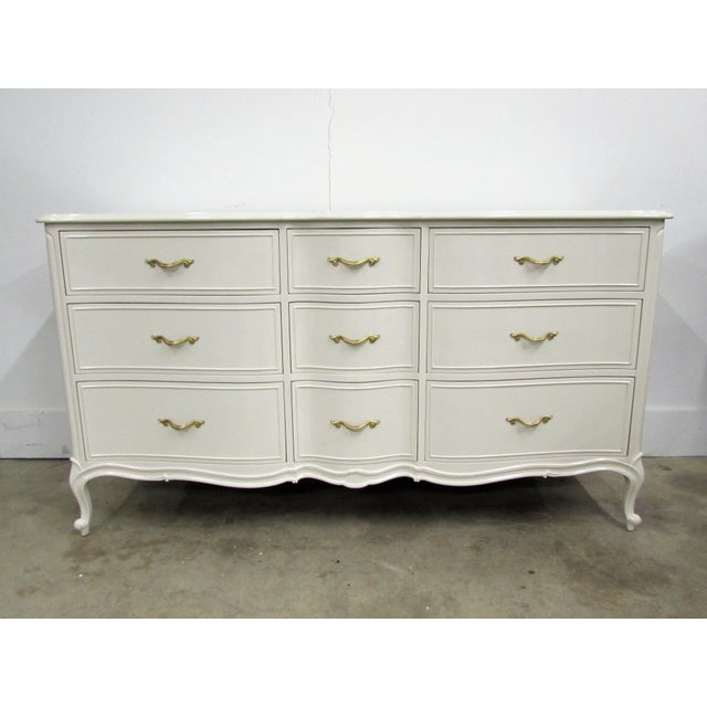 Drexel French Lacquered Chest of Drawers - Image 10 of 10