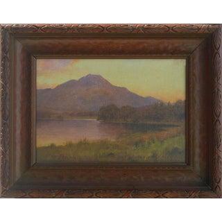 Mount Tamalpais from Bon Tempe Lake