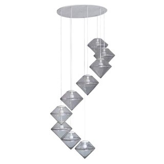 Monumental Nine Tier Chandelier by RAAK For Sale