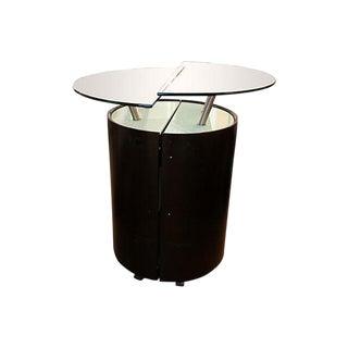 Modern Expanding Bar Cabinet