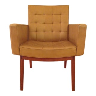 Vincent Cafiero Mid-Century Modern Armchair for Knoll For Sale