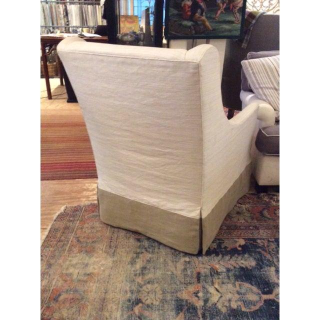 Lee Industries Modern Lee Industries Swivel Chair Item # 3471-01sw For Sale - Image 4 of 8