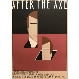 1980s Original Canadian Movie Poster - After the Axe (Canadian National Film Board Movie Poster) For Sale